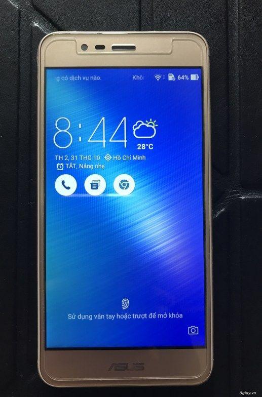 Bán Asus Zenphone 3 Max new 9999% fullbox bảo hành 11 tháng TGDĐ