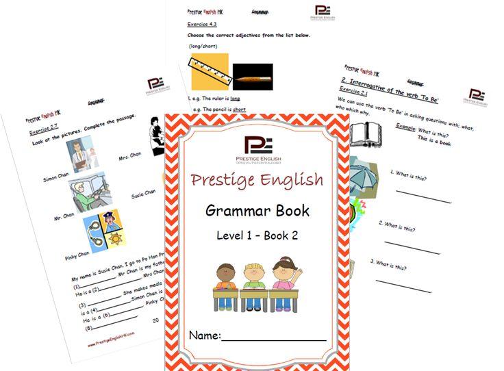 English Grammar Book – Level 1 – Book 2