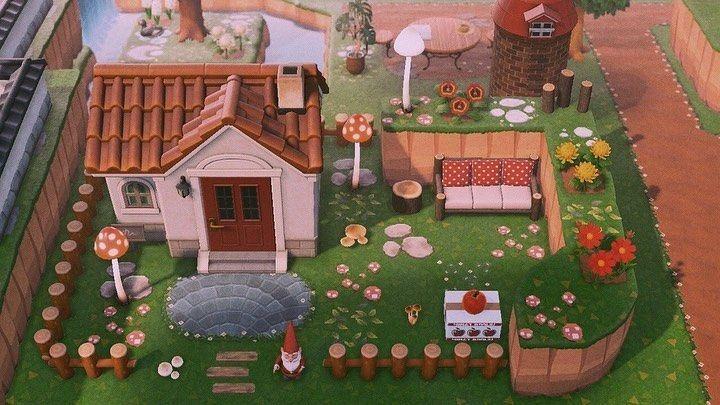 Animal Crossing New Horizons On Instagram House Exterior Inspo Credit To Acnhletizia On Twitter In 2020 Animal Crossing Animal Crossing 3ds New Animal Crossing