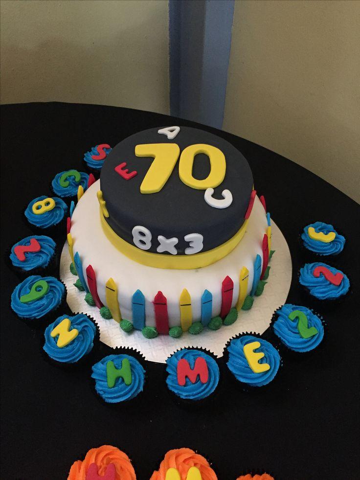 Teachers cake - done by Stikki Toffi Parti