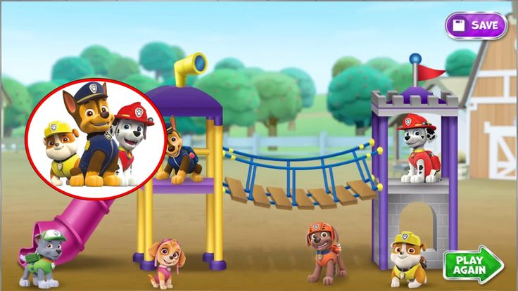 Nickelodeon Games to play online 2017 ♫  Paw Patrol Games PAWsome Playgr...