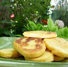 panisses marseillaise maison farine de pois chiches eau sel  huile d'holive