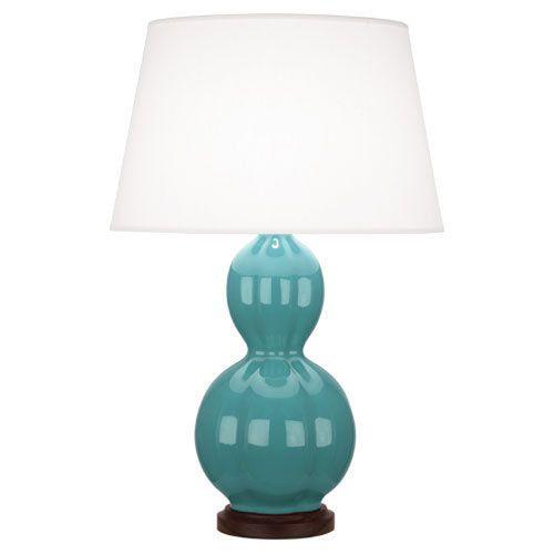 Williamsburg Randolph Mayo Teal One-Light Table Lamp
