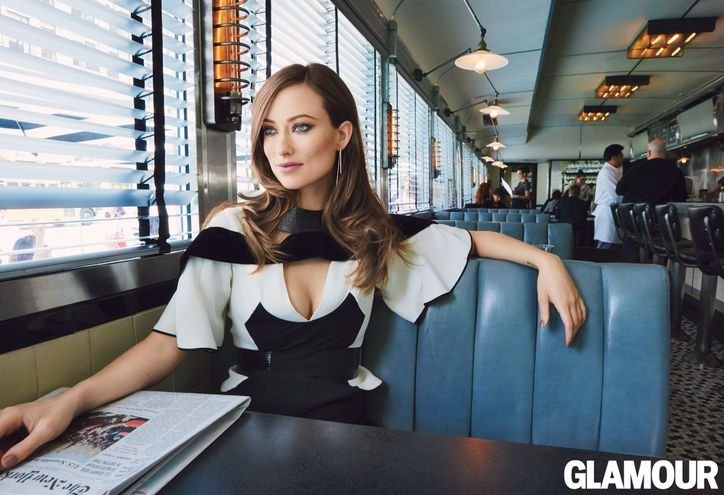 Olivia Wilde in Louis Vuitton Fall 2014 for Glamour magazine September 2014 by Patrick Demarchelier