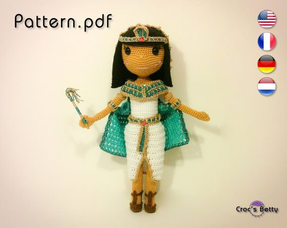 Pattern  Cloé the Cleopatra by CrocsBetty on Etsy
