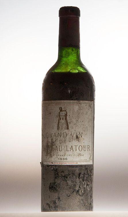 Vintage Chateau Latour Bordeaux 1966