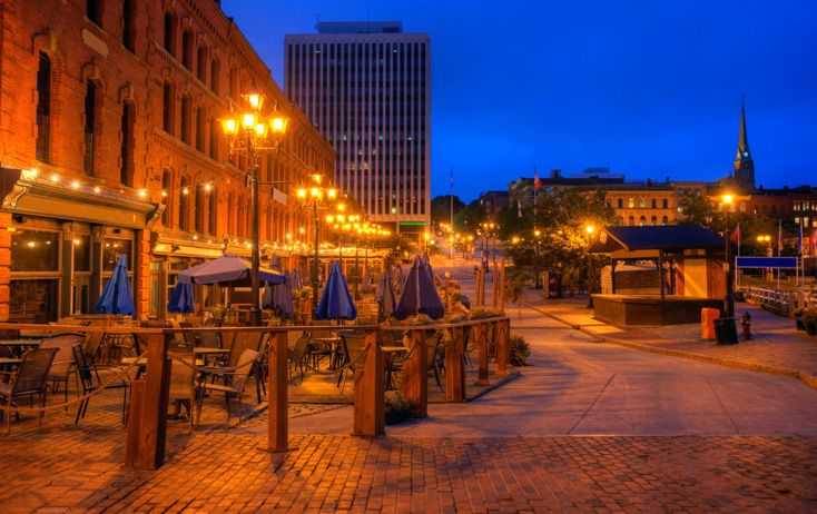 Be an urban adventurer in Saint John, New Brunswick.