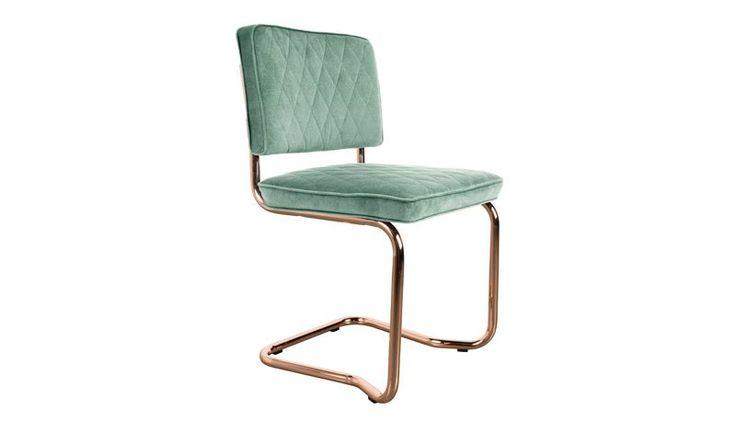 Stoel Chair Diamond Kink Mintgroen