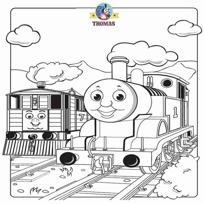 32 Thomas the Train Coloring Page   Train coloring pages ...