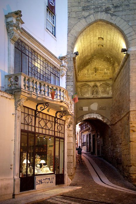 Old town Coimbra. The city of the Universities.