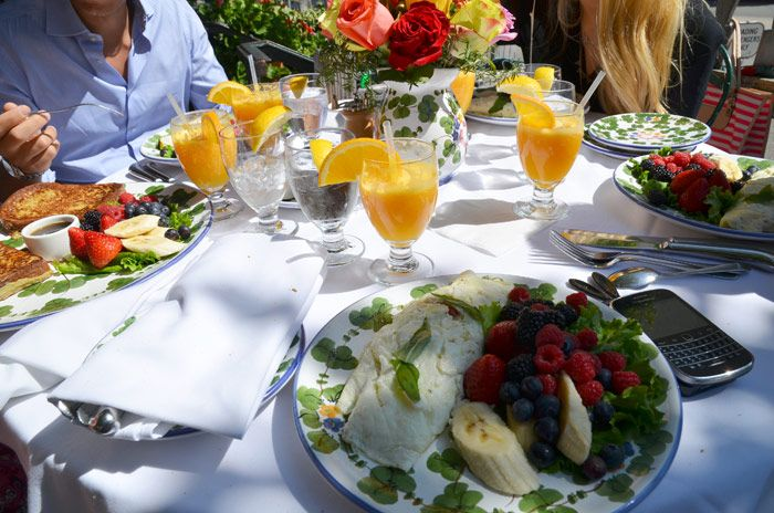 Brunch at The Ivy