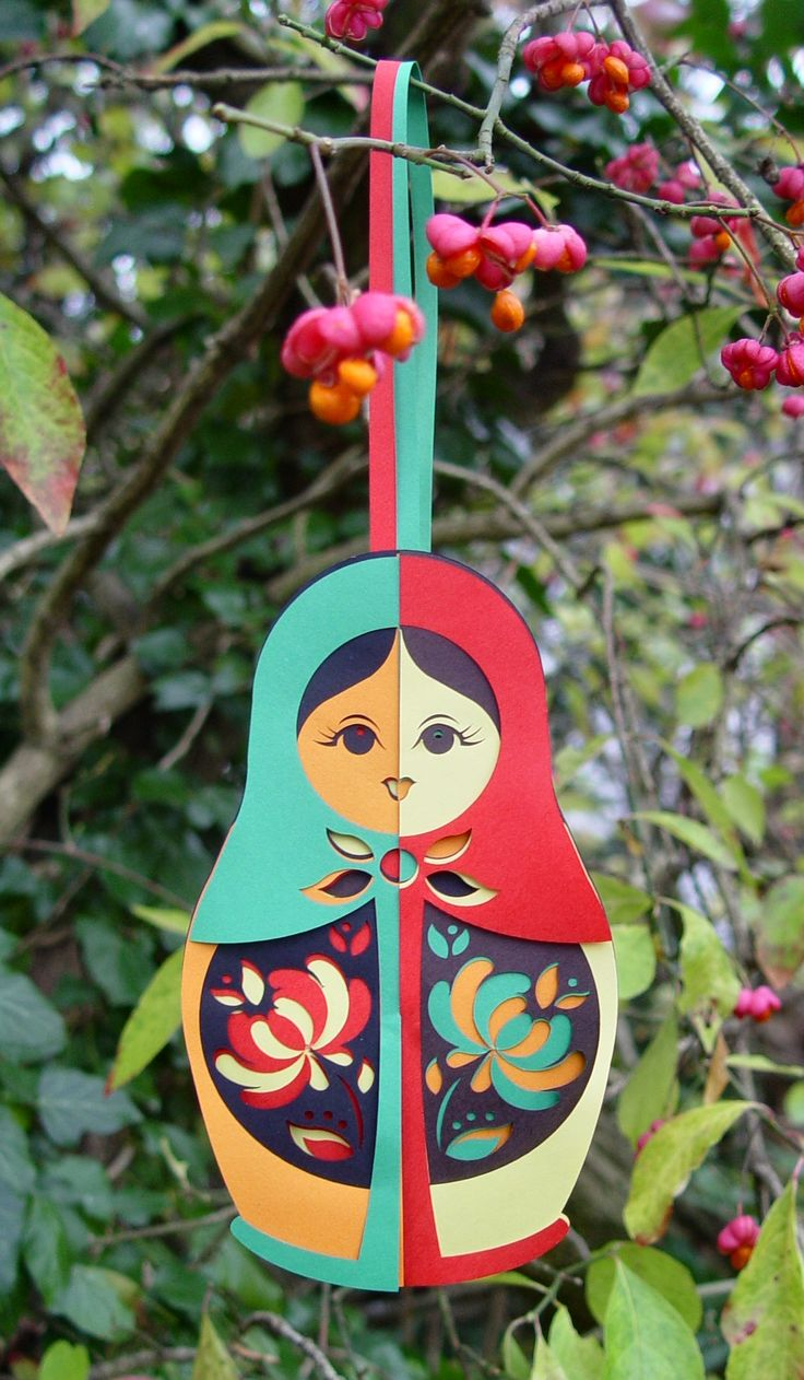 Babushka: 018 Babushka, Joining Baskets, Babushka Baskets, Russian Dolls, Baskets 018, Nests Dolls, Christmas Decor, Joining 018, Paper Crafts