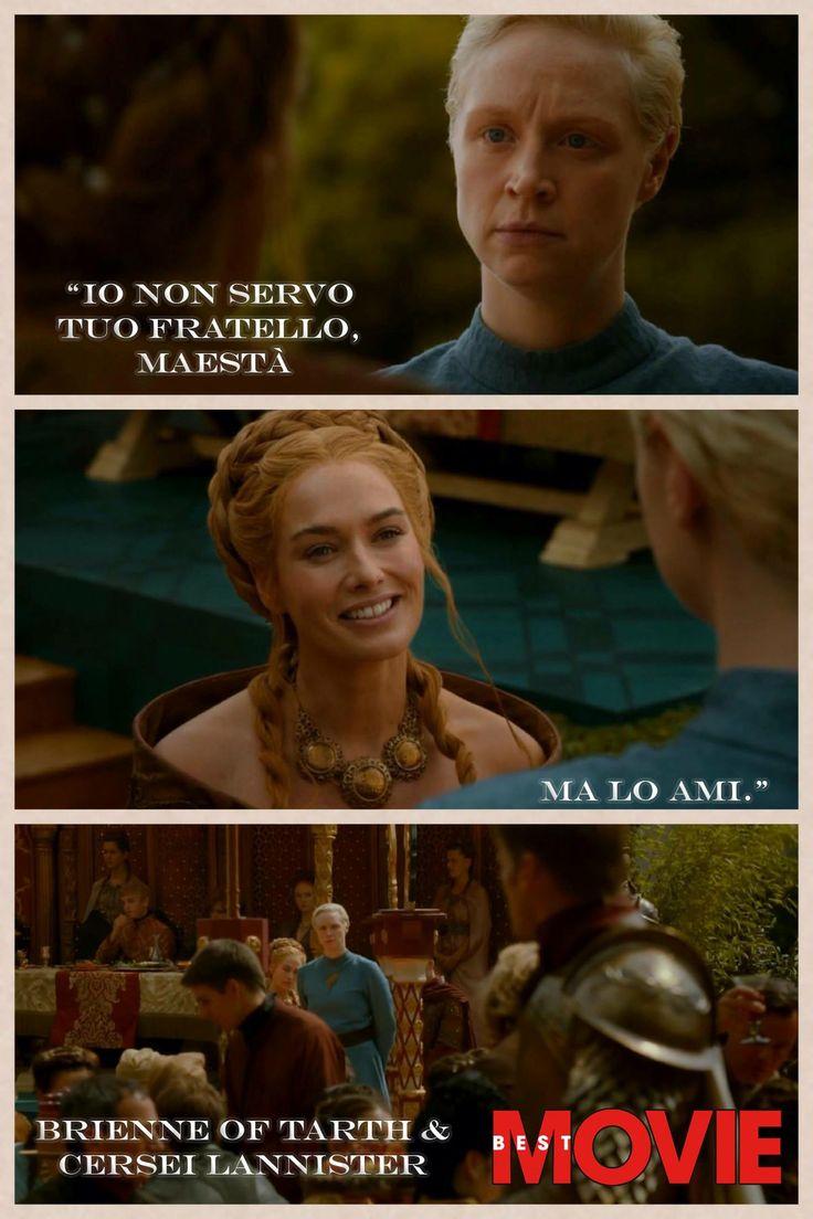 Brienne of Tarth e Cersei Lannister