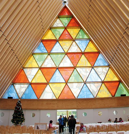 The Cardboard Cathedral in Christchurch #christchurch #newzealand #vacmag