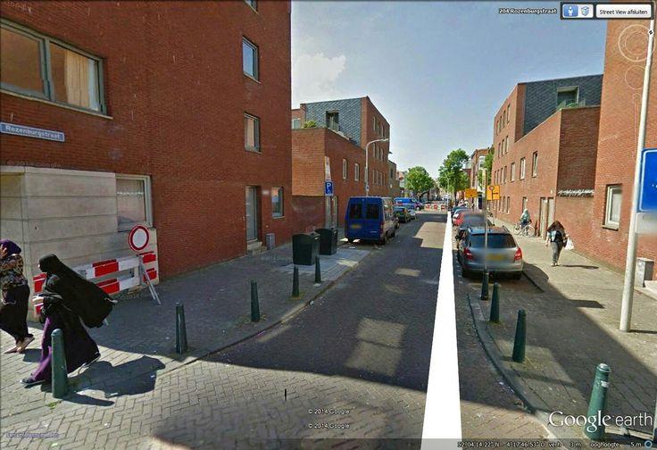 Keuken Kopen Den Haag : Kleine Rozenburgstraat heden ( waar zijn de mooie oude huizen gebleven