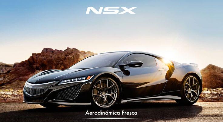 El NSX respira. Mientras inhala y exhala el aire fluye sobre y dentro de el con un sistema revolucionario que crea carga aerodinámica sin afectar el diseño. #NSXenLeon #ADNAcura #InspiradoEnTi