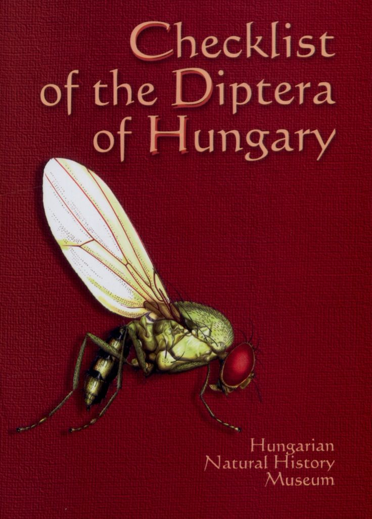 PAPP László (ed.) (2001) Checklist of the Diptera of Hungary Budapest: Hungarian Natural History Museum, 2001. - 550 p. ISBN 963 7093 710