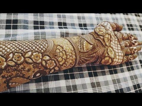 Eid Special Henna Design 2018 6 Heena Vahid Youtube Mehndhi