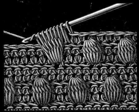 crochet work on encyclopedia of needlework