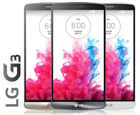 LG G3 Price & Availability: Verizon, AT&T, Sprint, T-Mobile, Best Buy