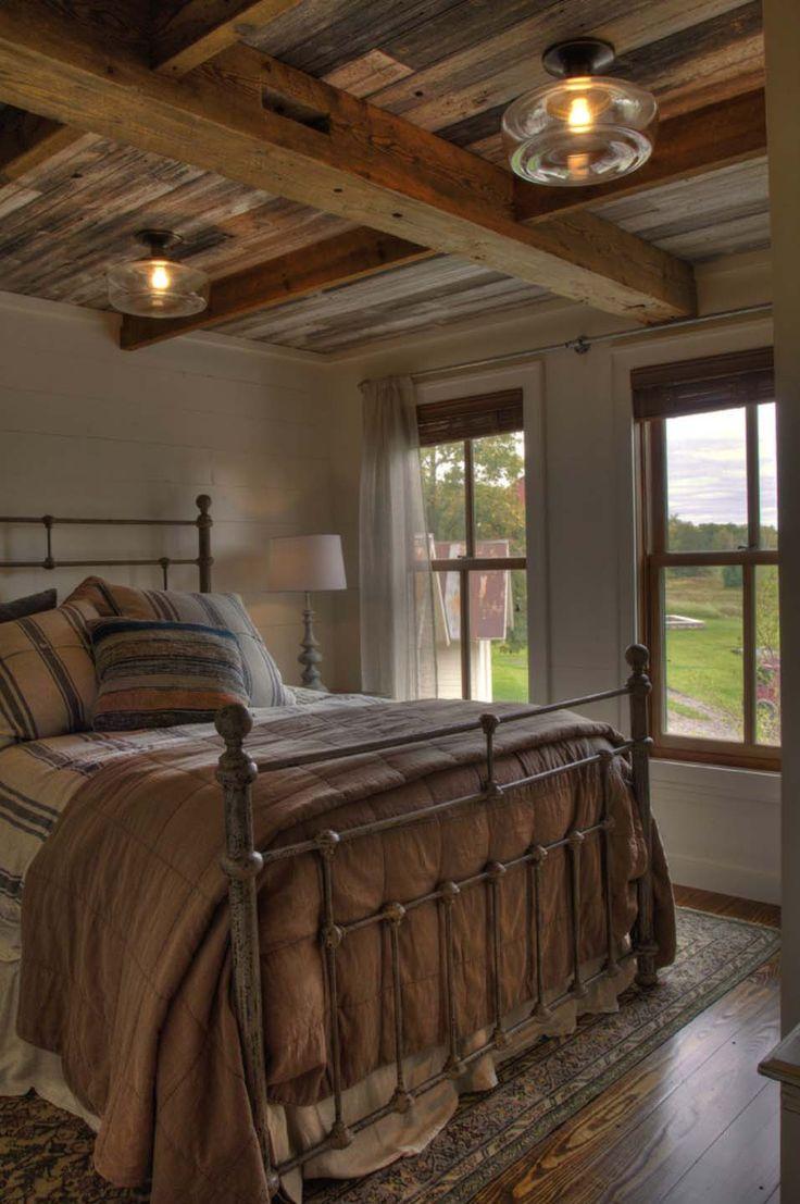 Charming Farmhouse And Entertainment Barn Nestled Lakeside In Minnesota Bedrooms Farmhouse