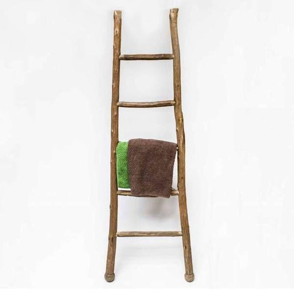 Sweet Living Vintage Decoratie Ladder - 46x6xH140 cm - Sweet Living Shop