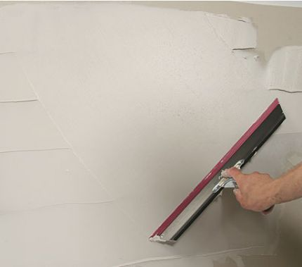 How To Finsh Drywall And Not Make A Mess Doing It.