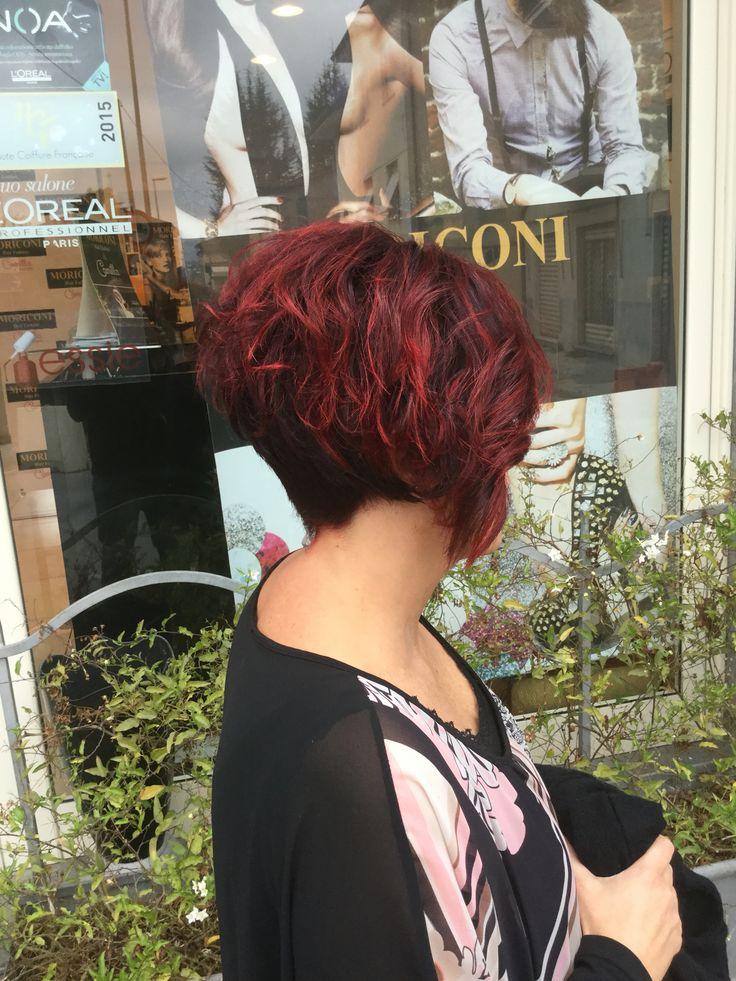 Taglio corto Rosso