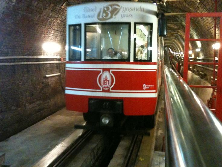 Karakoy Taksim tram world's oldest second tram .. Facebook.com/visitistanbul Facebook.com/istanbul.visit #love #istanbul @Visit Istanbul #photooftheday #iphone #mood #Стамбул #cute #picoftheday #イスタンブール #hub #summer #tbt #girl #daily #jj #beautiful #bestoftheday #sky  #web #picstitch #nofilter #fashion #food #happy #sun