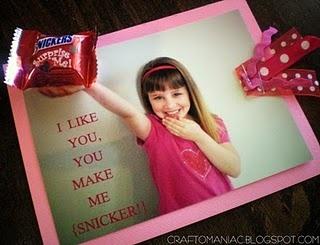 Snickers Valentines