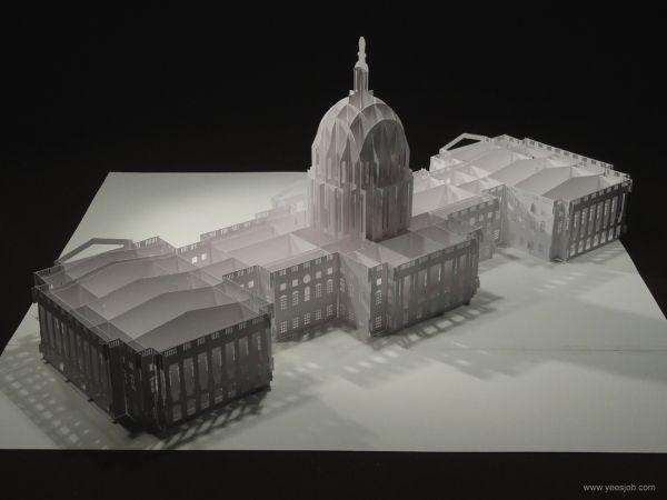 Pop Up Architecture | Origami Architecture