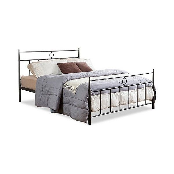 ester modern and victorian iron metal platform bed 350 liked on polyvore