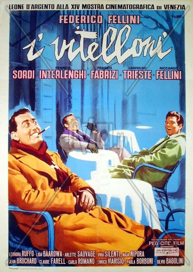 (1953) Criterion + ________________________ https://en.wikipedia.org/wiki/I_Vitelloni https://www.criterion.com/films/966-i-vitelloni