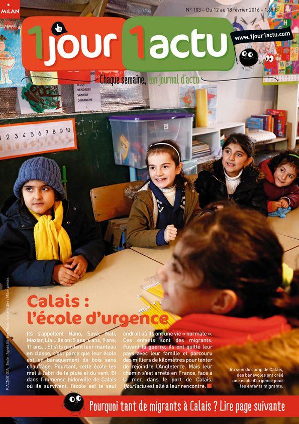 """Dans la """"Jungle"""" de Calais, l'École du Chemin des Dunes a ouvert ses portes en septembre pour accueillir les enfants de migrants. Cette école, construite par un réfugié nigérian et animée par des bénévoles, est située sur la zone sud du camp. Cette zone sera détruite, mais l'école, elle, restera debout."""