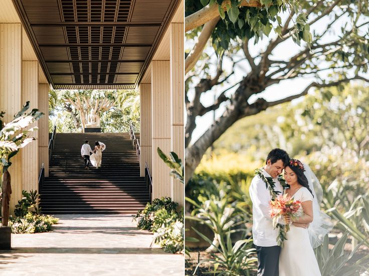 Mateo & Tina | Big Island Wedding...Book an appointment today to find your perfect Island Wedding Dress! Chee.