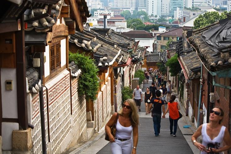 Korea Bukchon Hanok Village for seoul