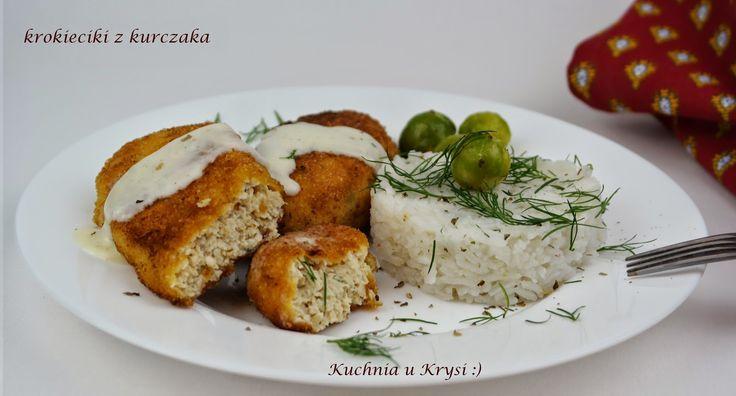 Kuchnia u Krysi  : Krokieciki z kurczaka