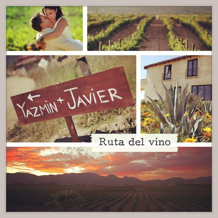 Tu boda en la ruta del vino. Ensenada, Baja California