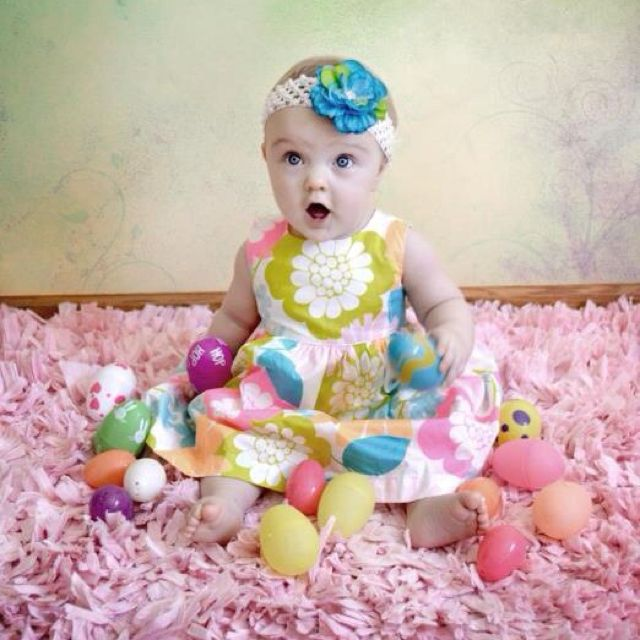 My little girls Easter Photo