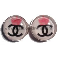 Boucles d'oreilles Channelle Rosé
