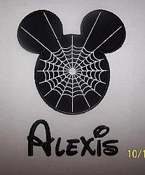 Halloween Mickey Spider Web Shirt