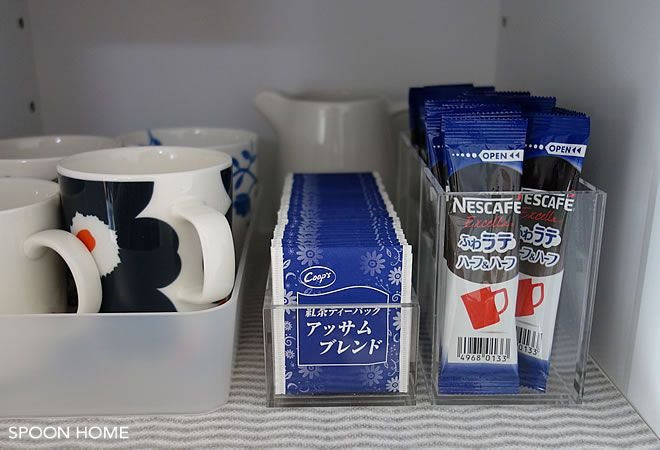 紅茶のティーパックやお茶のティーバッグはキッチンでの収納方法に悩むことも。無印良品とIKEAではティーバッグ収納に役立つおしゃれな収納グッズを販売しています。ティーバッグの収納アイデアを写真付きでご紹介。