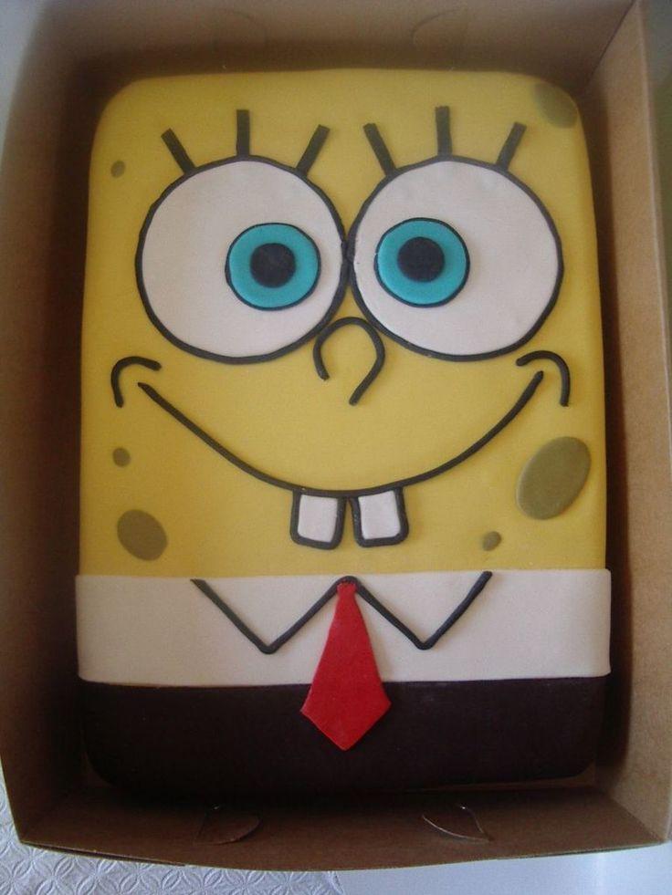 Spongebob Desserts Spongebob Birthday Party Cupcake
