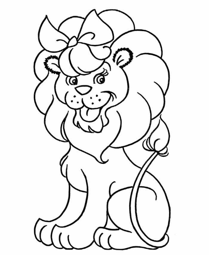 Lion Coloring Pages In 2020 Lion Coloring Pages Animal Coloring