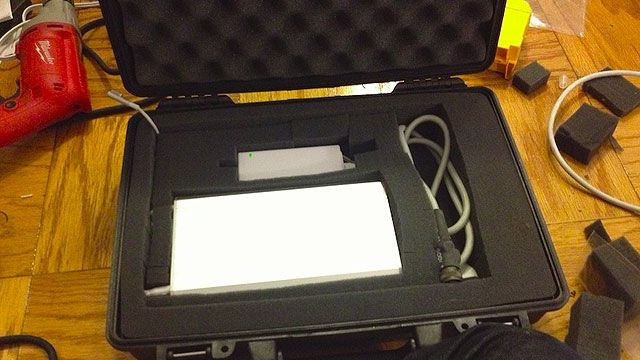 Build Your Own Military-Grade Laptop Case with Built-in Battery