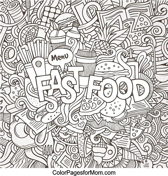 coloring pages of random stuff - photo#12