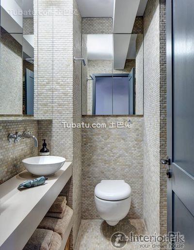 Simple European Style Design House Interior Bathroom Renovation Pictures  2016