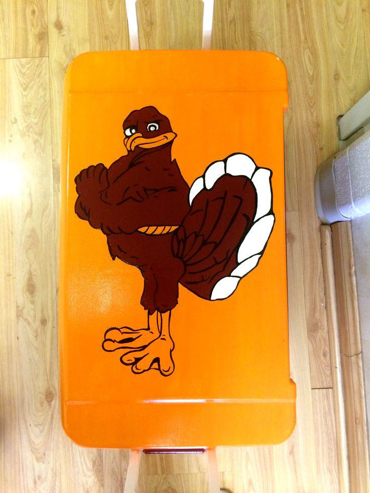 Hokie Bird // Virginia Tech // Cooler Hokie bird