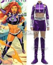 DC Comics Presents Teen Titans  Starfire Cosplay Costume