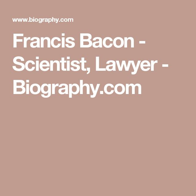 an introduction to the life of francis bacon Dent and sons, london, 1972 introduction by in francis bacon sir francis bacon's essay of marriage and the single life sir francis bacon essays in urdu translation.